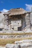 Ruinen in Tulum, Mexiko lizenzfreies stockbild