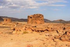Ruinen um Dahab Lizenzfreies Stockbild