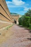 Ruinen Villa di Adriano in Tivoli Stockfoto
