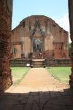 Ruinen von altem Ayutthaya Stockfotografie