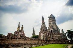 Ruinen von altem Ayutthaya Lizenzfreie Stockbilder