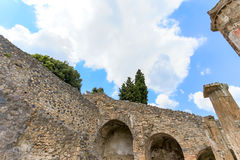 Ruinen von altem Pompeji Italien Lizenzfreie Stockfotografie