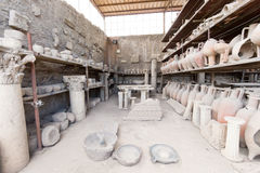 Ruinen von altem Pompeji Italien Lizenzfreie Stockbilder