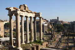 Ruinen von altem Rom Lizenzfreies Stockbild