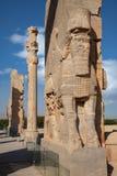 Ruinen von altem Takhte Jamshid City die Hauptstadt des Achaemenid-Reiches Stockbilder