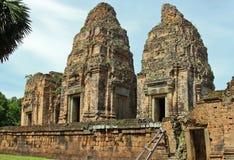 Ruinen von Angkor Wat Stockfotos