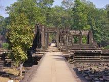 Ruinen von Angkor Wat lizenzfreie stockfotos