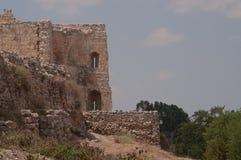 Ruinen von Antipatris in Telefon-afek stockfoto