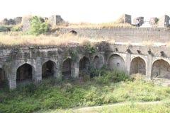 Ruinen von Ausa-Fort lizenzfreie stockfotografie