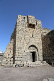 Ruinen von Azraq ziehen sich, zentral-Ost-Jordanien, 100 Kilometer östlich von Amman zurück Stockbilder