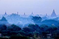 Ruinen von Bagan- Birma (Myanmar) Stockbild