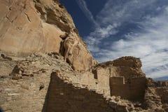 Ruinen von Chaco Stockfotografie