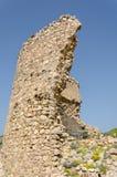 Ruinen von Chembalos-Festung Stockbilder