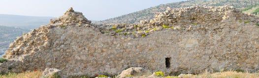 Ruinen von Chembalos Festung Lizenzfreies Stockbild