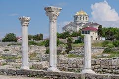 Ruinen von Chersonese Lizenzfreie Stockfotografie