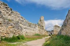 Ruinen von Chersonese Lizenzfreie Stockfotos