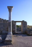 Ruinen von Chersonese Stockbilder