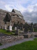Ruinen von Corcomroe-Abtei Stockfotografie