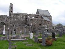 Ruinen von Corcomroe-Abtei Lizenzfreie Stockbilder