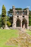 Ruinen von Dryburgh-Abtei, Schottland Lizenzfreie Stockbilder