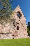 Ruinen von Dryburgh-Abtei, Schottland Lizenzfreies Stockbild