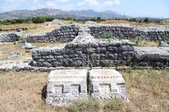 Ruinen von Duclea lizenzfreie stockfotos