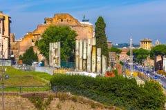 Ruinen von einem alten römischen Lizenzfreies Stockbild