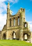 Ruinen von einem Cistercian Monastry Lizenzfreie Stockfotos
