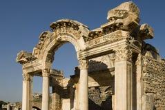 Ruinen von Ephesus, die Türkei Stockfotos