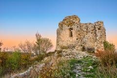 Ruinen von Festung ÄŒaÄ- vina Stockbilder