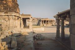 Ruinen von Hampi Stockbild