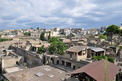 Ruinen von Herculaneum stockfotografie