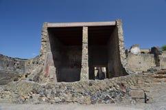 Ruinen von Herculaneum stockbild