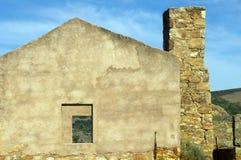Ruinen von Kanyaka-Station, Flinders-Strecken, Süd-Australien lizenzfreie stockfotografie