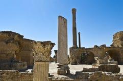 Ruinen von Karthago Stockbild