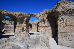 Ruinen von Karthago lizenzfreie stockfotos