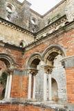 Ruinen von Kirche Sans Galgano Lizenzfreies Stockfoto
