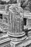 Ruinen von korinthischen Säulen am Landhaus Adriana, Tivoli Lizenzfreie Stockbilder