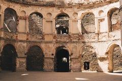 Ruinen von krzyztopor Schloss stockfoto