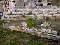 Ruinen von Limyra, die Türkei Lizenzfreie Stockfotografie
