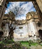 Ruinen von Monterano Stockfotos
