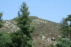 Ruinen von Olympia Lizenzfreie Stockfotos