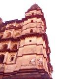 Ruinen von Orchha-Fort, Madhya Pradesh stockfoto