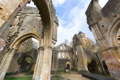 Ruinen von Orval Stockfotografie