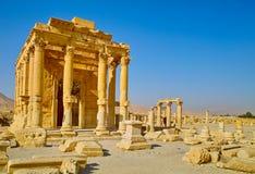 Ruinen von Palmyra Stockfoto