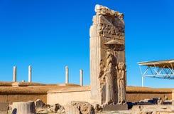 Ruinen von Persepolis Stockfotos