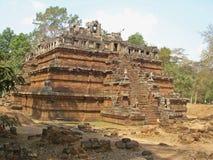 Ruinen von Phimeanakas-Tempel Stockfotografie