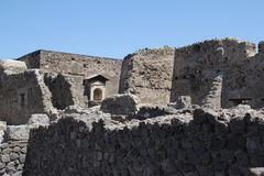 Ruinen von Pompeji Lizenzfreies Stockfoto