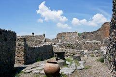 Ruinen von Pompeji, Italien Lizenzfreie Stockfotos