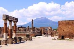 Ruinen von Pompeji, Italien Lizenzfreies Stockbild